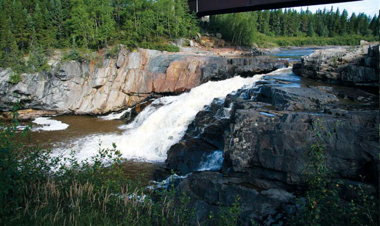 Opinaca-Falls