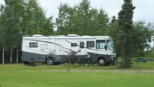 When you travel to James Bay in the off-season, you may be among the few campers in the Radisson Campground.