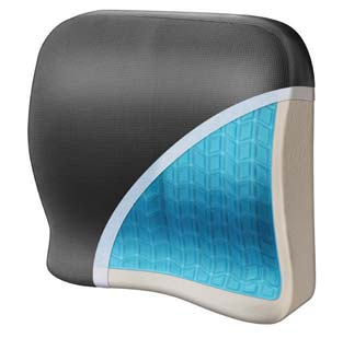 Wagan's Relax Fusion lumbar cushion