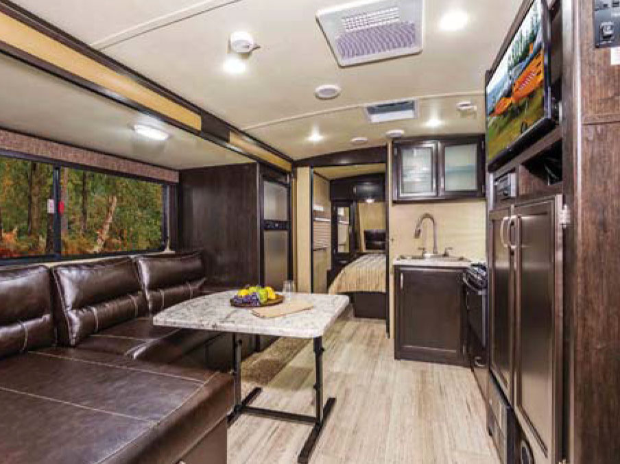 Design RV Manufactures A Variety Of High Quality Towable Fifth Wheel And Travel Trailer Models At Their Factory In Middlebury Indiana