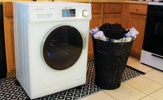 New Gear Pinnacle Compact Washer Dryer Combo Rv