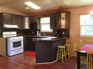 Inside the Deluxe Cabin at Ivy Lea Koa
