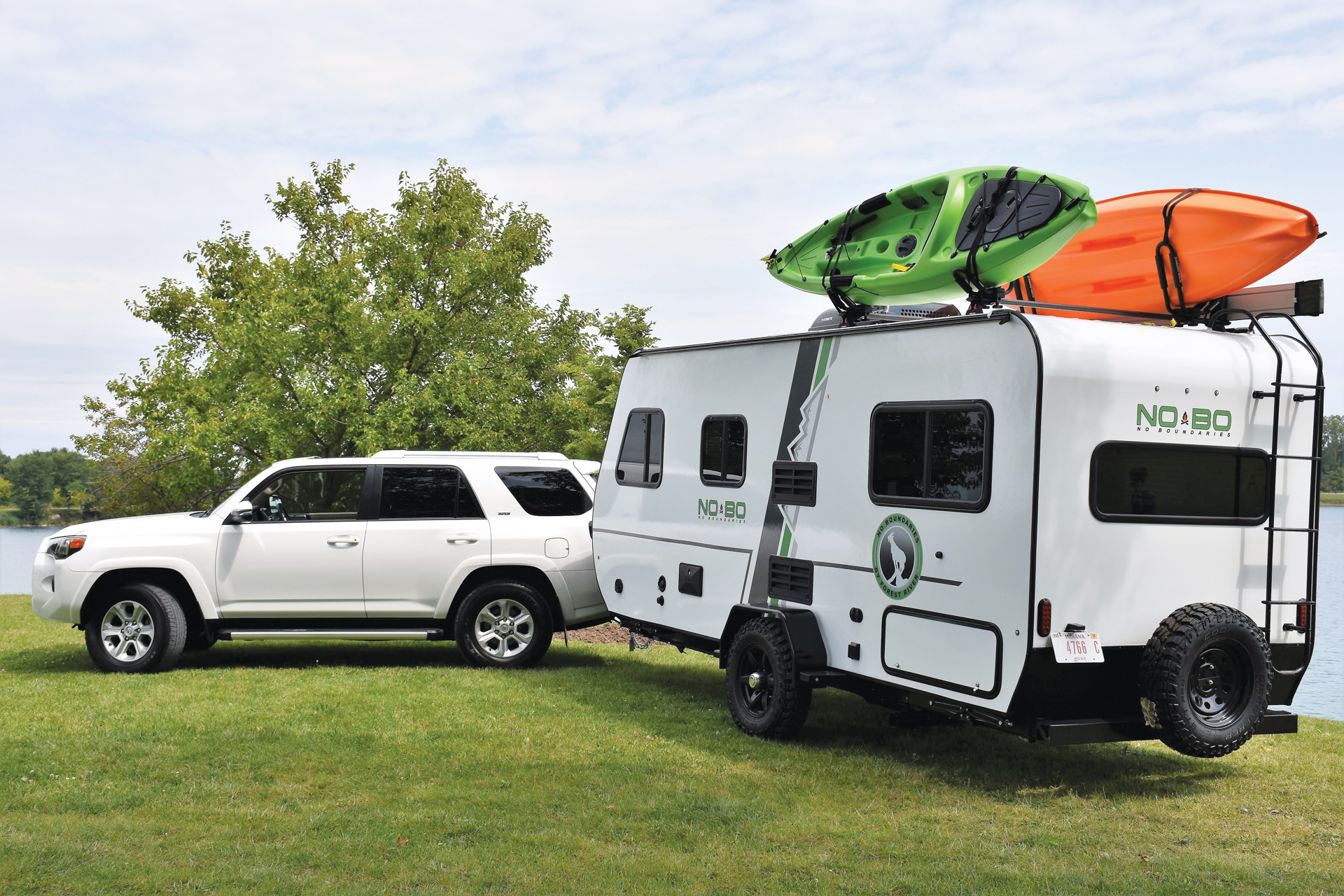 The Brand New Line Of No Boundaries Travel Trailers From Forest River Are An Adventurers Dream With Sturdy Lightweight Construction And A Range