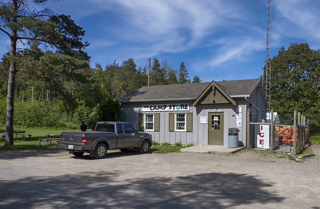 Campsite store