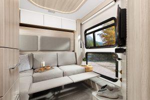 Leisure Travel Van Unity interior