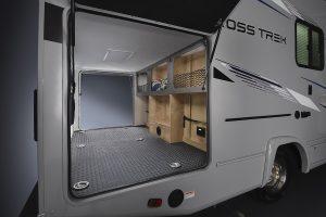 Coachmen Cross Trek storage