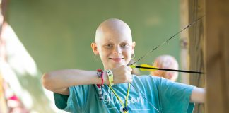 Camps for children with cancer