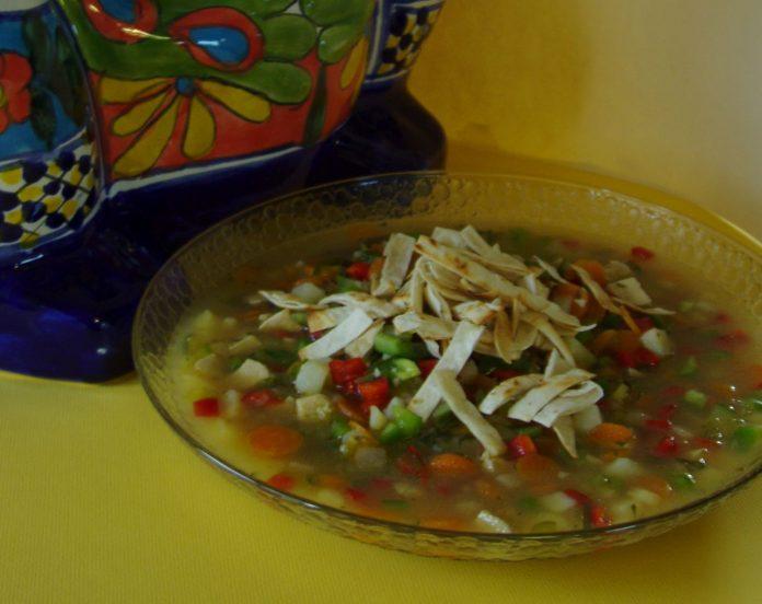 Tortilla Soup Cooking Ladies